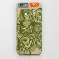 iPhone & iPod Case featuring Wisdom to the Nines by Rachel Caldwell