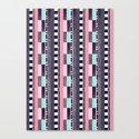 DG Aztec Love Canvas Print