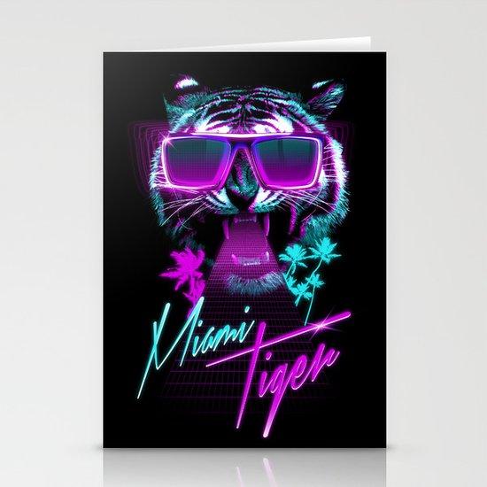 Miami Tiger Stationery Card