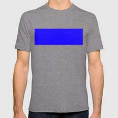 1200ff Blue Mens Fitted Tee Tri-Grey SMALL