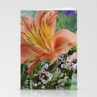 Freesia 2 Stationery Cards