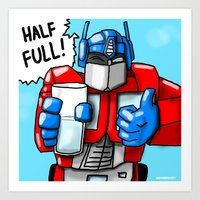 Optimist Prime Art Print