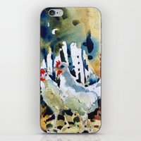 Ruth And Marcelle iPhone & iPod Skin