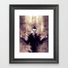 Jerome Valeska - Gotham Framed Art Print