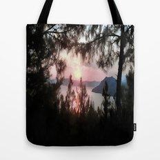 Solemn Sunset  Tote Bag