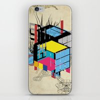 Rubik's building - Vienna 2044 iPhone & iPod Skin