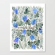 Tropical Wanderlust – … Canvas Print