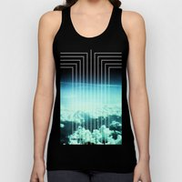 Straight to Blue Unisex Tank Top