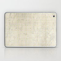 gOld squares Laptop & iPad Skin