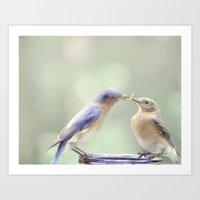 Spring Kiss Art Print