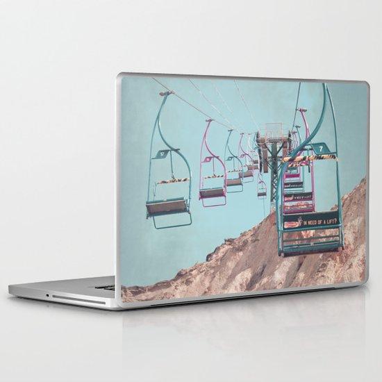 into the sky... Laptop & iPad Skin