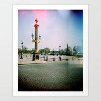 Place De La Concorde, Pa… Art Print
