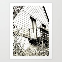 Ghosthouse Art Print
