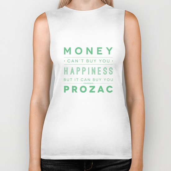 Prozac Nation Biker Tank