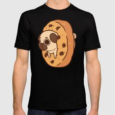 Puglie Cookie SMALL Mens Fitted Tee Black
