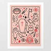 Good Clean Horror Art Print