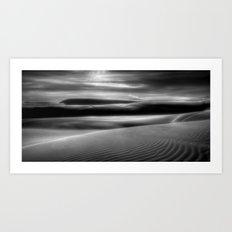 Shifting Sands Art Print