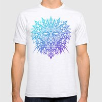 Heart Of A Lion Mens Fitted Tee Ash Grey SMALL