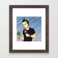 Apollo Justice: Attorney at Law Framed Art Print