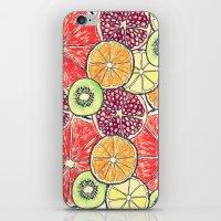 fruit salad iPhone & iPod Skin