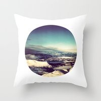 Telescope 4 arctic Throw Pillow