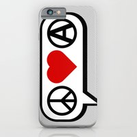 Peace. Love. Anarchy. iPhone 6 Slim Case