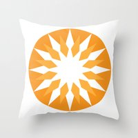 Sharp 1 Throw Pillow