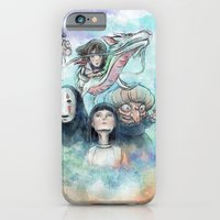 Spirited Away Watercolor Painting iPhone 6 Slim Case