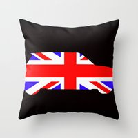 Mini Cooper Throw Pillow