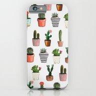CACTI   Watercolor Succu… iPhone 6 Slim Case