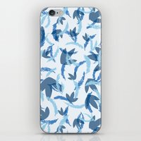 blue blue blue iPhone & iPod Skin