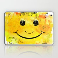 Just another smiley face Laptop & iPad Skin