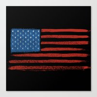 Money Country   Canvas Print