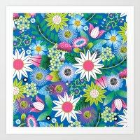 Botanical Fantastical Art Print