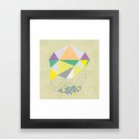 gemstone Framed Art Print