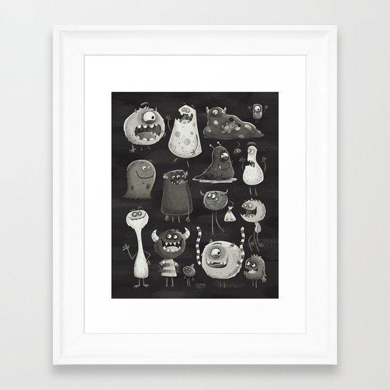 Kept in the Dark Framed Art Print