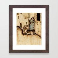 Compantionship Framed Art Print