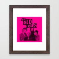 the Old ones Framed Art Print