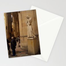 Statue of Christ in St Vitus Cathedral  Stationery Cards