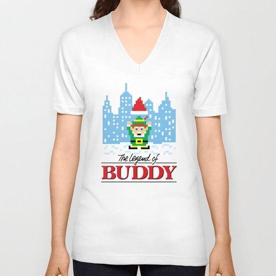 The Legend of Buddy V-neck T-shirt