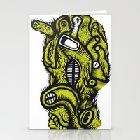 Irradié - the print Stationery Cards