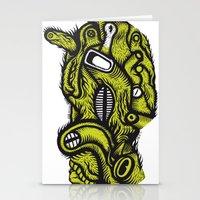 Irradié - the print Stationery Cards