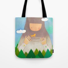 Forest giant Tote Bag