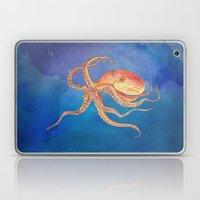 Octopus Blue Laptop & iPad Skin