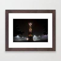 Wilsonville Transit Cent… Framed Art Print