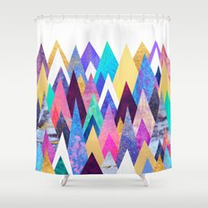 Enchanted Mountains Shower Curtain