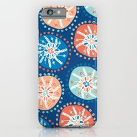 iPhone & iPod Case featuring Flower Puffs by Sarah Doherty