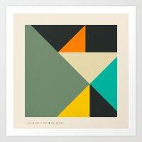 Balancing Act #7 Art Print