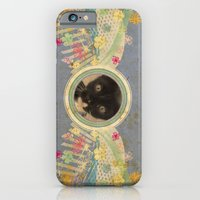 iPhone & iPod Case featuring Kitten by Duru Eksioglu