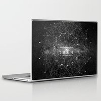 quote Laptop & iPad Skins featuring STARGAZING IS LIKE TIME TRAVEL by Amanda Mocci